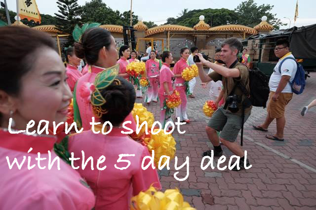 The 5 day deal! – Photography courses for a mega discount.